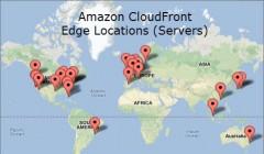 CDN Map Amazon CloudFront